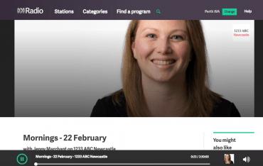 Radio Interview – ABC Radio