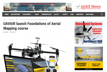 UAVAIR launch Foundations of Aerial Mapping course – sUAS News