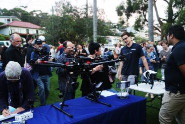 Wrap up of Blue2Blue Drone Film Festival – 2017