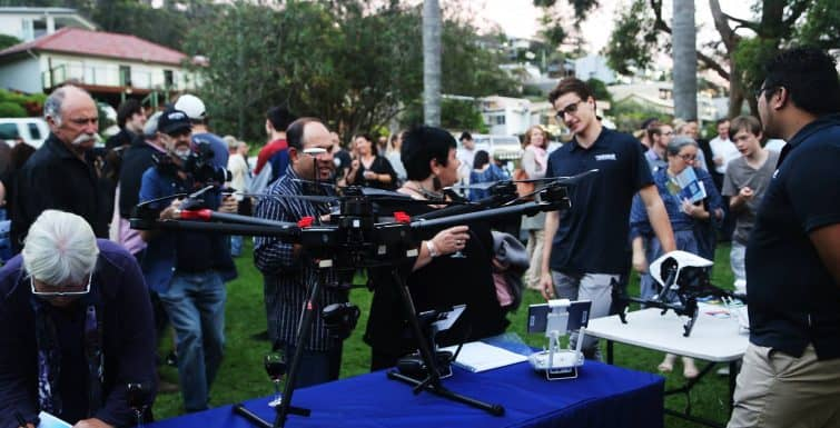 Wrap up of Blue2Blue Drone Film Festival – 2017
